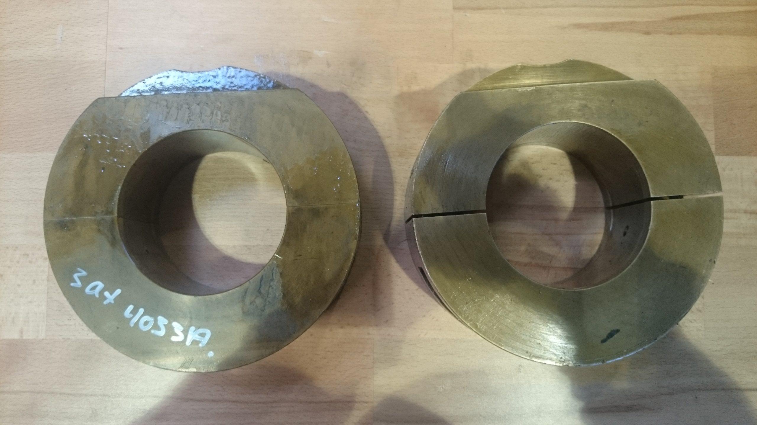 Support bearing, cam shaft